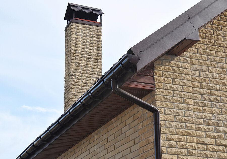 a rain flow system roof