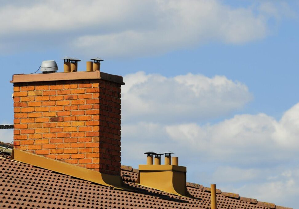 a bunch of chimney